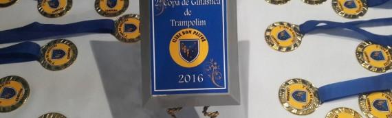 II Copinha Clube Bom Pastor de Ginástica de Trampolim