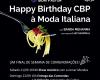 Happy Birthday CBP - Uma noite Italiana