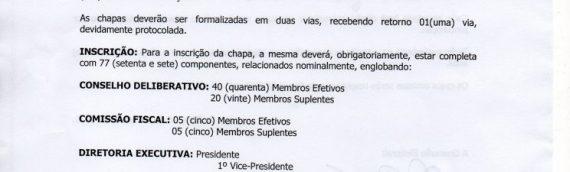 REGULAMENTO ELEIÇÃO CLUBE BOM PASTOR 2020 – 2023